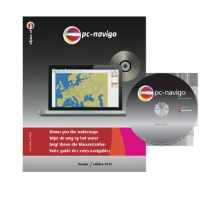 PC-Navigo Europa op DVD versie 2017 + 2018 gratis