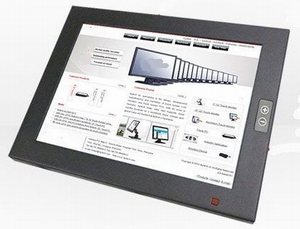 IP65 rondom - Touchscreen 8 inch - 250+ nits !! - 12 Volt