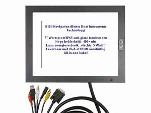 IP65 Touchscreen 15 inch - zonlicht 1000+ nits !! - 12 Volt