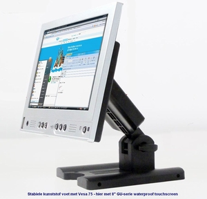 B-Bit 7 inch IP40 Touchscreen 250 nits - 8-36 Volt