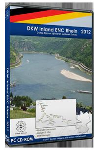 DKW IENC Rijn  en zijrivieren in Duitsland