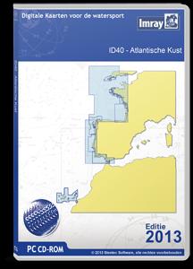 DKW-ID40 Atlantische kust Frankrijk, Portugal tot Gibraltar